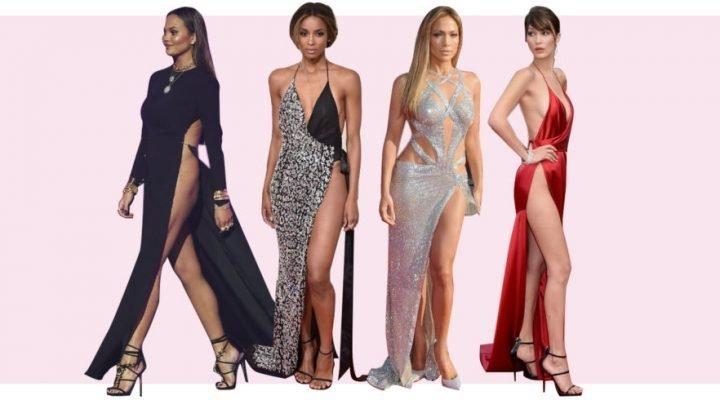 Cele mai îndrăznețe rochii despicate purtate de celebrități