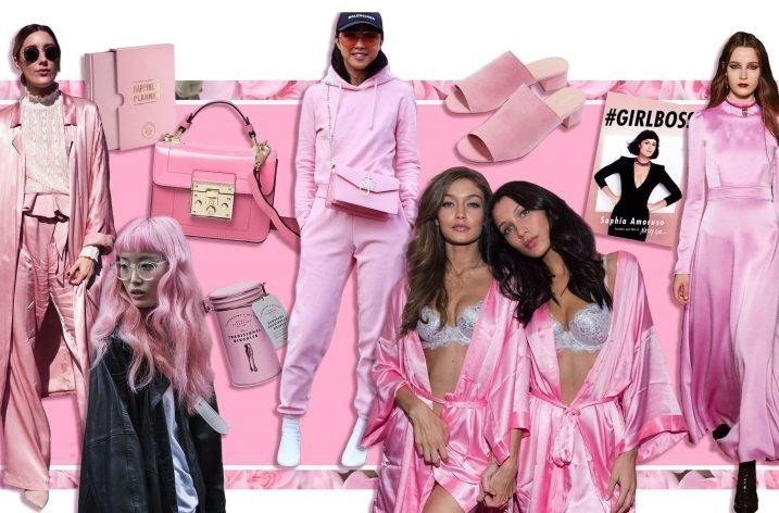 Roz milenar – culoarea pe care o poartă toate vedetele în 2017