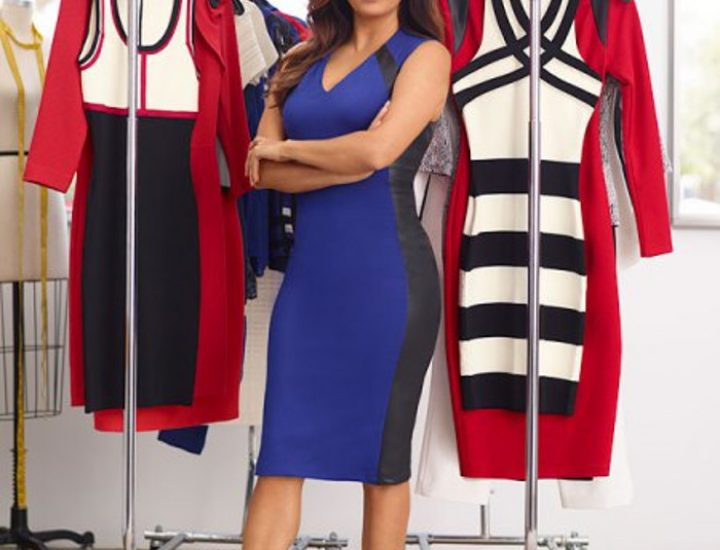 Eva Longoria prezinta prima ei colectie de haine la New York Fashion Week
