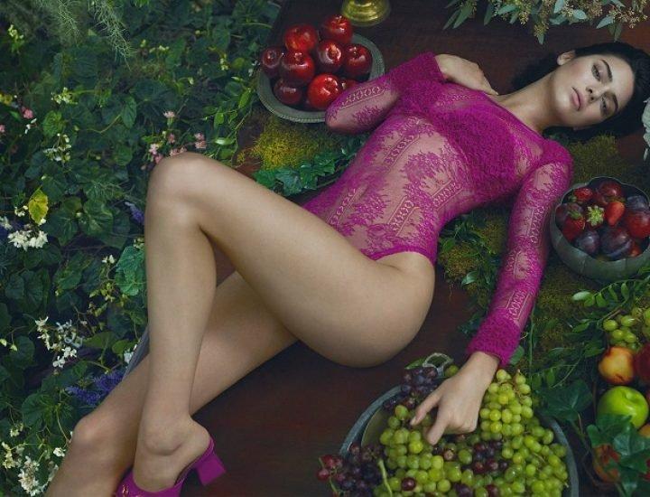 Kendall Jenner este noua vedeta in campania La Perla toamna / iarna 2017