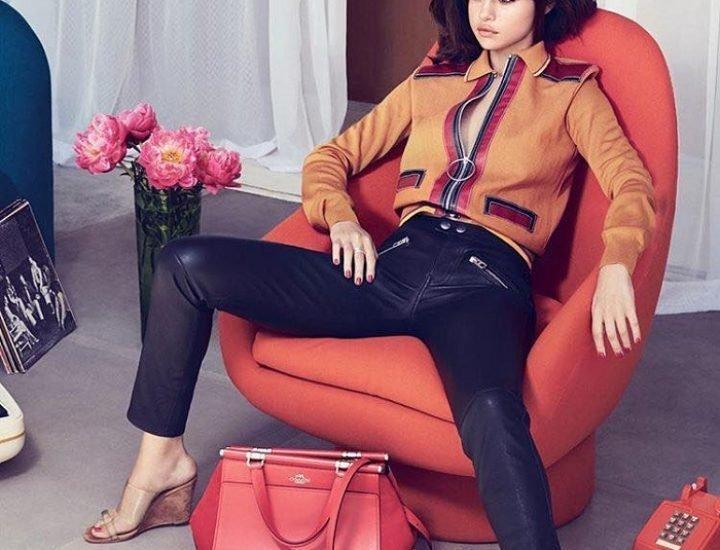 Colectia Coach si Selena Gomez online
