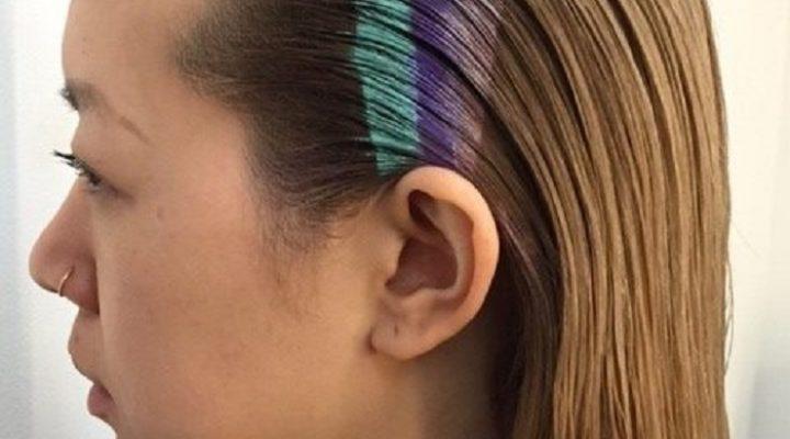Păr în culori curcubeu – noua tendință de pe Instagram