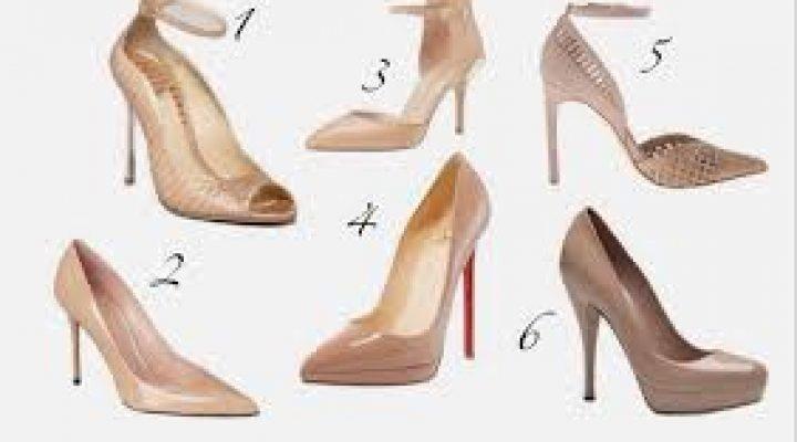 Idei de stil pentru a purta pantofii nude