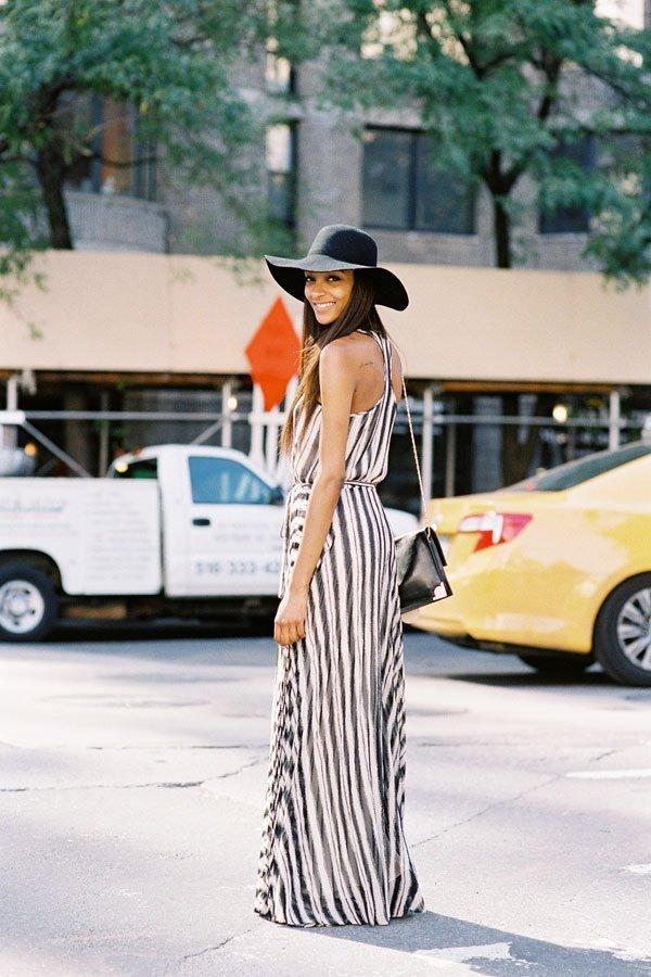 rochii maxi la moda
