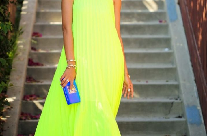 Rochii maxi la moda vara 2017
