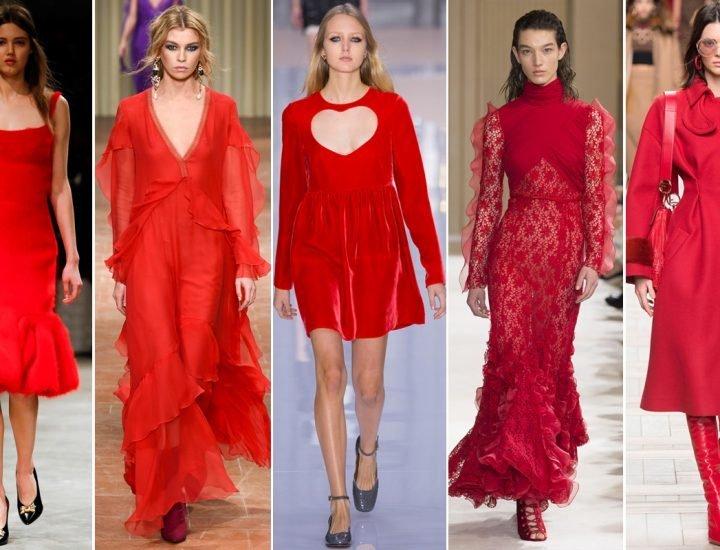 Este oficial: rosu este o culoare must-have in toamna 2017