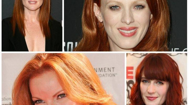 Cele mai celebre roscate de la Hollywood. Inspira-te din look-ul lor!