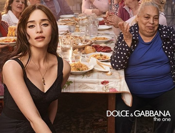 "Vedetele ""Game of Thrones"", Emilia Clarke si Kit Harington, in noua campanie Dolce & Gabbana"