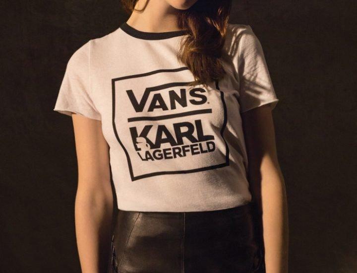 Colectia Karl Lagerfeld x Vans pentru toamna 2017