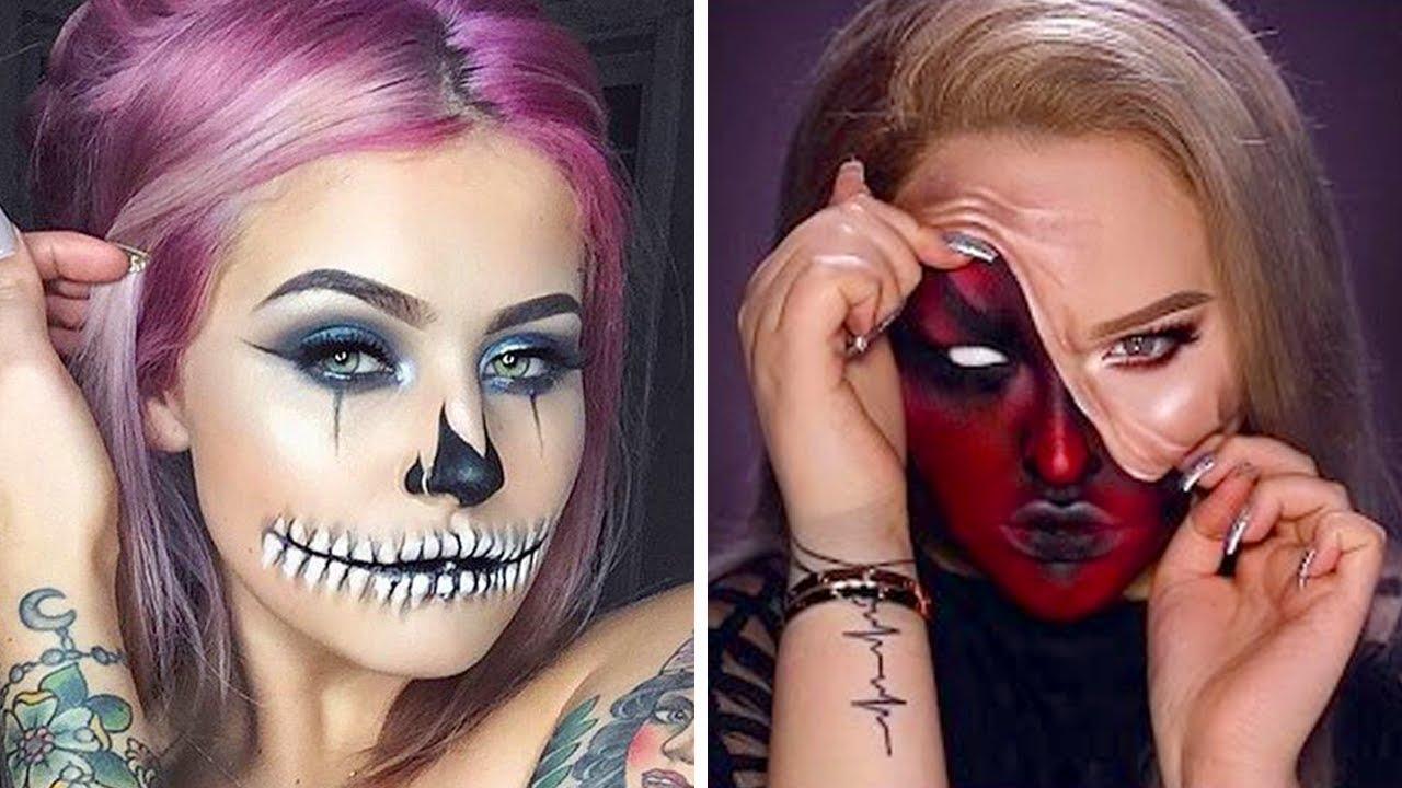 idei de machiaj de Halloween
