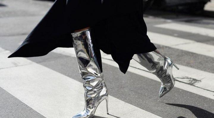 Trend alert: cizmele metalice sunt un must-have in aceasta toamna