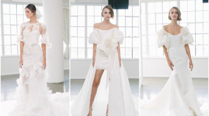 Tendinte rochii de mireasa – colectia Marchesa pentru toamna 2018