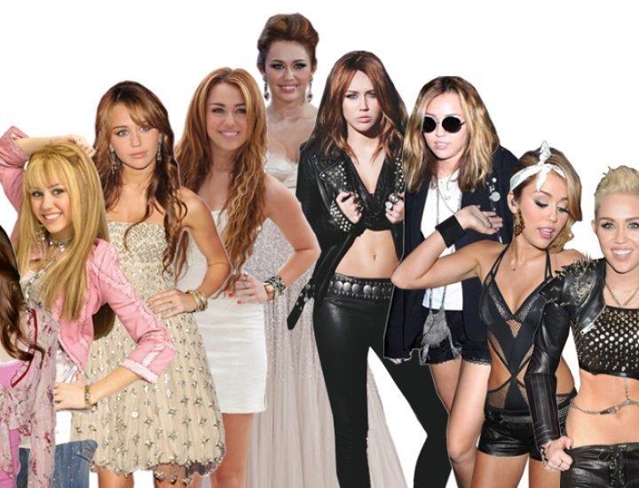 Evolutia de stil a lui Miley Cyrus