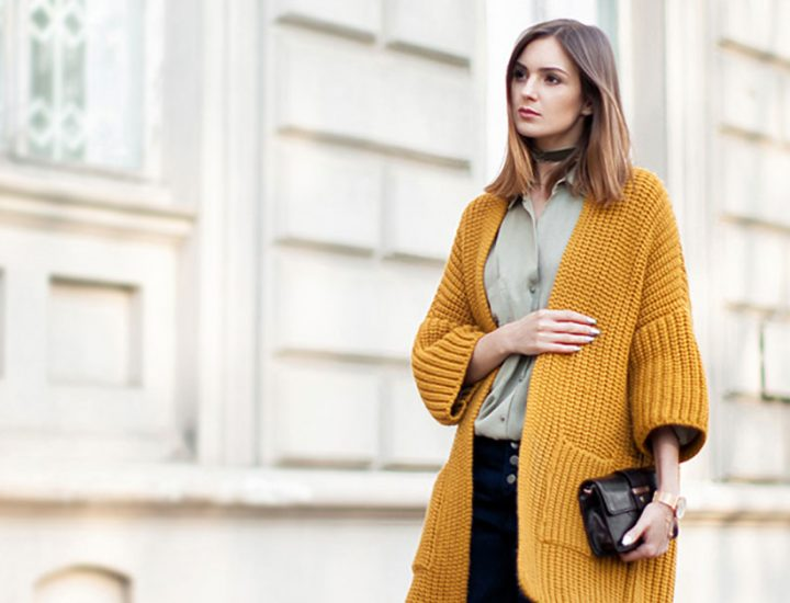 Cardigane la moda – idei de stil 2018