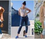 Haine de maternitate la moda, inspirate de vedete