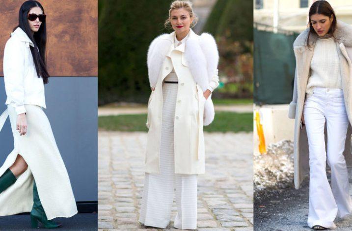 Ghid de stil: cum sa porti alb iarna