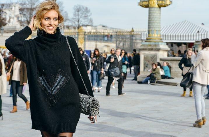 4 moduri de a purta un pulover supradimensionat