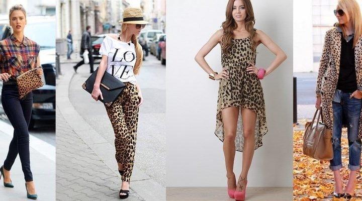 Cum sa porti imprimeul leopard