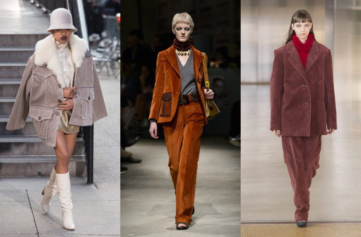 Catifea cord – noua tesatura la moda din 2018