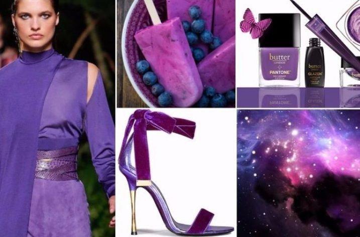 Culori la moda 2018: violet predomina in aceste sezoane