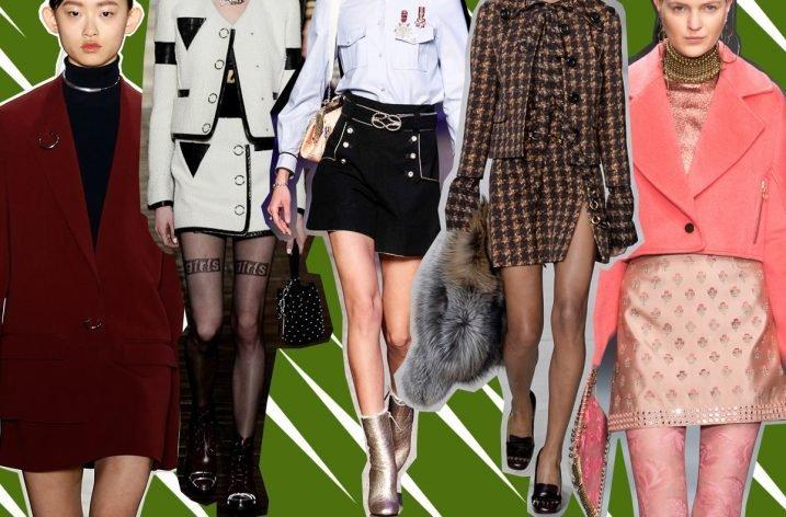 Modele de fuste dama la moda in 2018