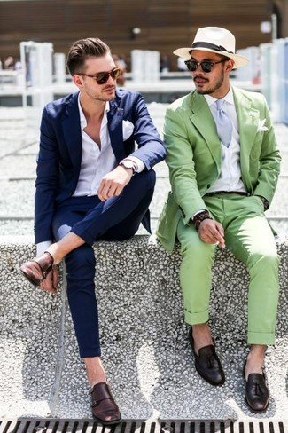 pantofi barbati cu catarama dubla