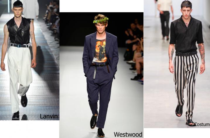 Pantaloni barbati la moda in 2018