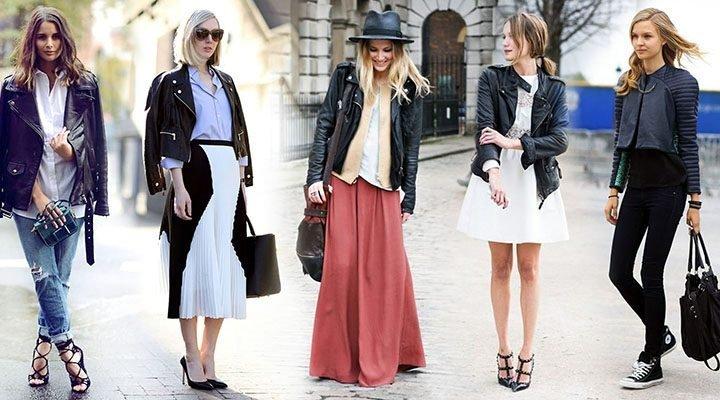 Geci de piele femei: modele si trucuri de stil