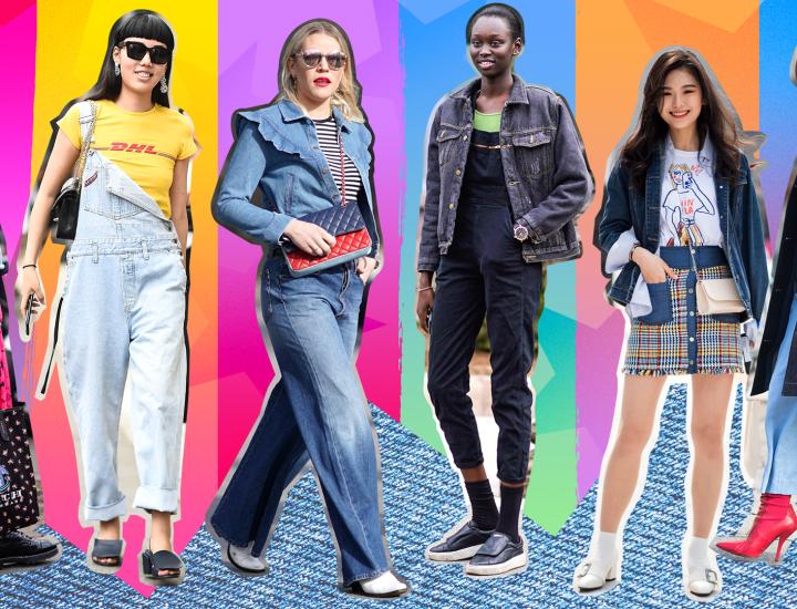 Moda denim 2019: ce se poarta